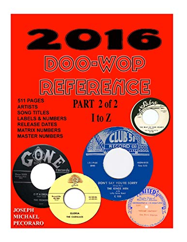 9781522885313: 2016 Doo-Wop Reference Part 2