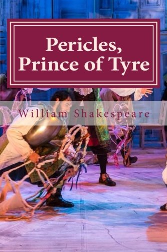 9781522898122: Pericles, Prince of Tyre