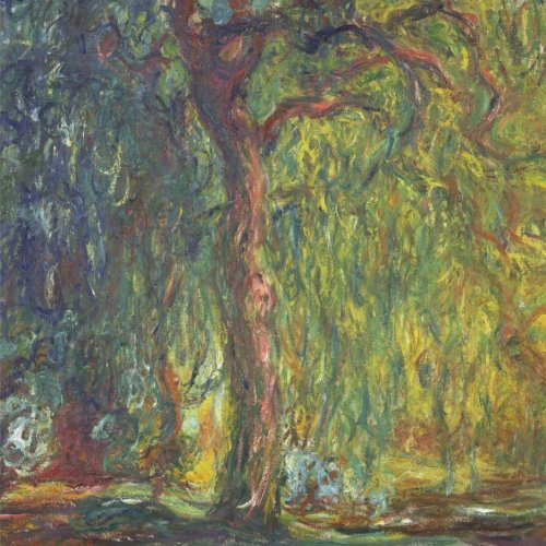 9781522900368: Weeping willow, Claude Monet: Journal; 150 Lined / ruled pages, 8,5 x 8,5 inch (21.59 x 21.59 centimeters) Laminated. (Paper notebook, composition book)