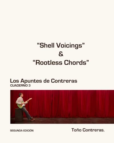 9781522914440: Los Apuntes de Contreras. Guitarra de Jazz. Volumen 3: Shell Voicing (Volume 3) (Spanish Edition)