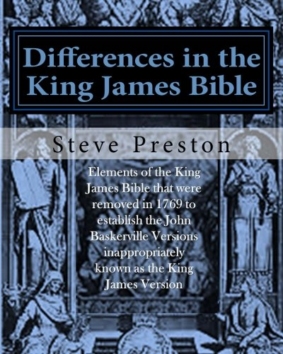 9781522923862: Differences in the King James Bible: Baskerville Version Limitations