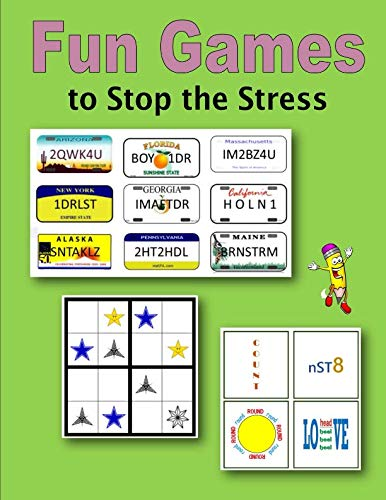 9781522938620: Fun Games to Stop the Stress