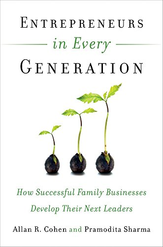 9781523082452: Entrepreneurs in Every Generation : How Successful Family Businesses Develop Their Next Leaders