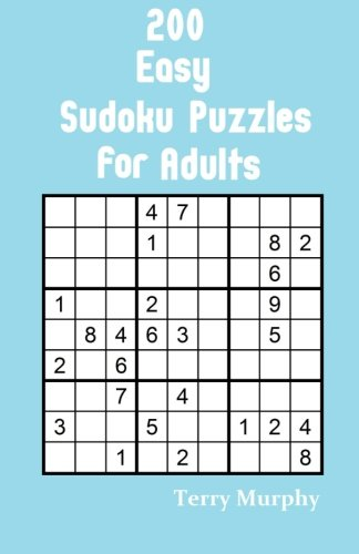 9781523211494: 200 Easy Sudoku Puzzles for Adults