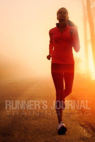 "9781523213917: Runner's Journal Training Log: Medium SIZE 6""x9"", One Year Training Log, Shoe History, & Race Log"