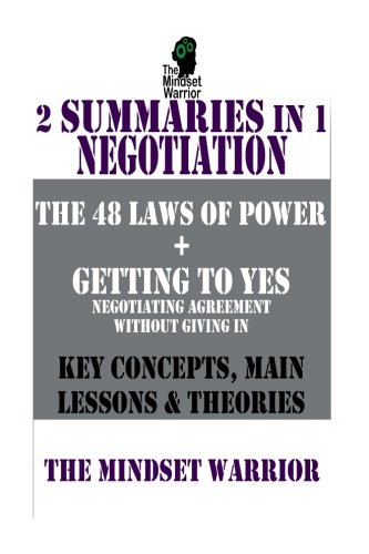 9781523228881: 48 Laws of Power   Getting to Yes: 2-in-1 Summary BOXSET   The MW Summary Guides