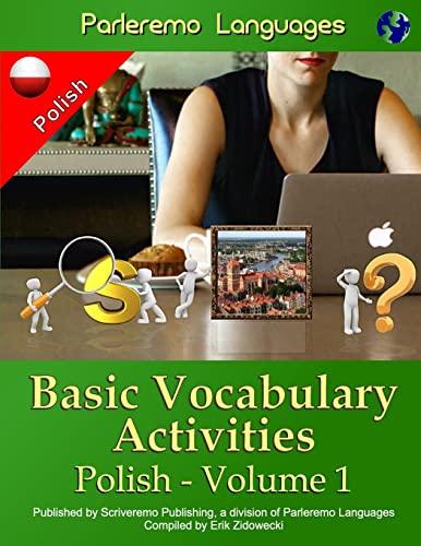 9781523243785: Parleremo Languages Basic Vocabulary Activities Polish - Volume 1