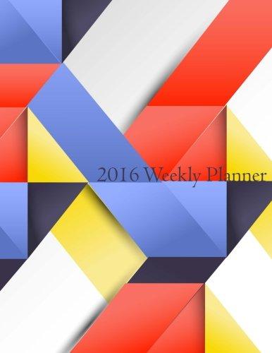9781523253005: 2016 Weekly Planner