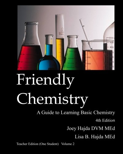 9781523274574: Friendly Chemistry Teacher Edition (One Student) Volume 2