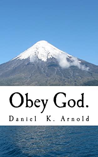 9781523288908: Obey God.