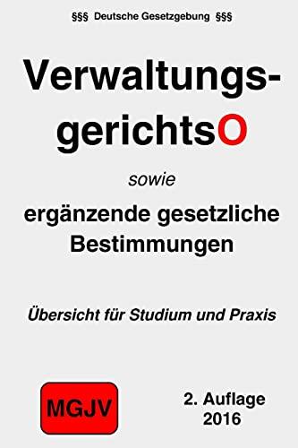 9781523306268: Verwaltungsgerichtsordnung: VwGO