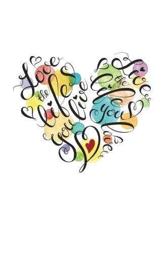 9781523306664: Internet Password Organizer: Love The Life You Live (Discreet Password Journal)