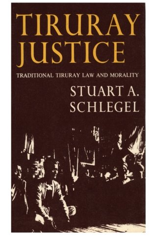 9781523308088: Tiruray Justice: Traditional Tiruray Law and Morality