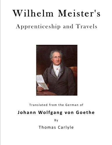 9781523310746: Wilhelm Meister's Apprenticeship and Travels