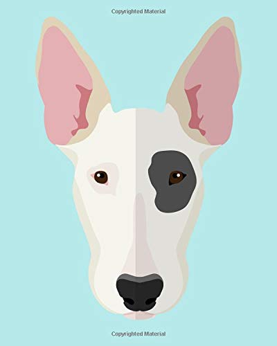 9781523312313: Bull Terrier Notebook: College Ruled Writer's Notebook for School, the Office, or Home! (8 x 10 inches, 120 pages)