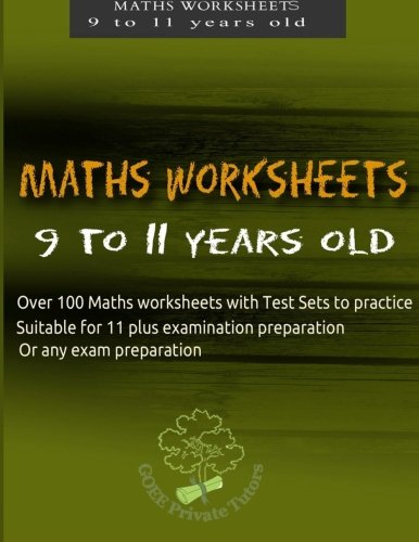 9781523345236: Maths Worksheets for 9 to 11 years old: Volume 3