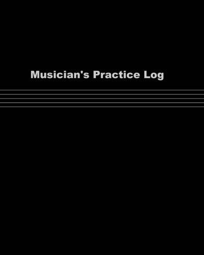 9781523350575: Musician's Practice Log
