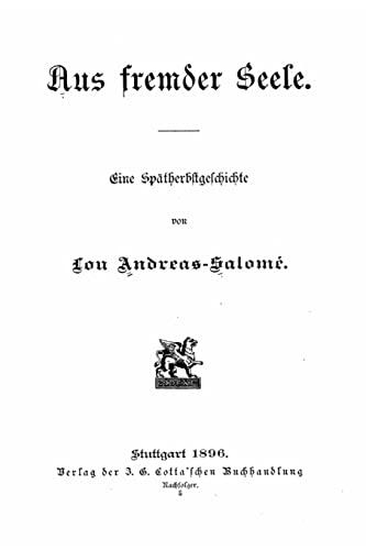 9781523356461: Aus fremder Seele (German Edition)