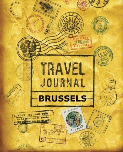 9781523359400: Travel Journal Brussels
