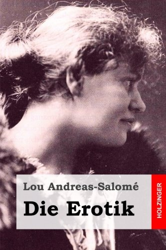 Die Erotik: Andreas-Salome, Lou