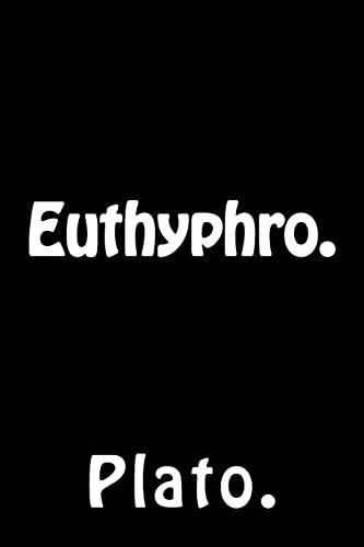 9781523373895: Euthyphro.