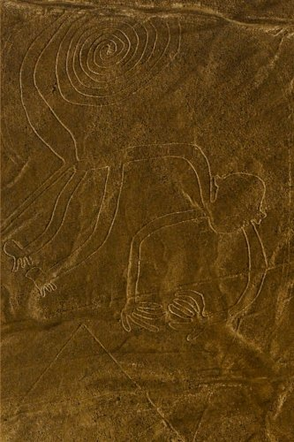 9781523376971: Nazca Lines Monkey Journal: 150 page lined notebook/diary