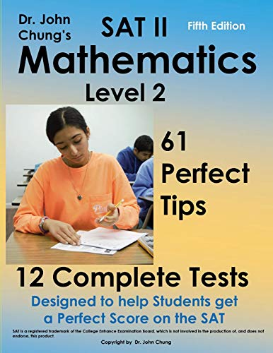 9781523381531: SAT II Mathmatics level 2: Designed to get a perfect score on the exam.