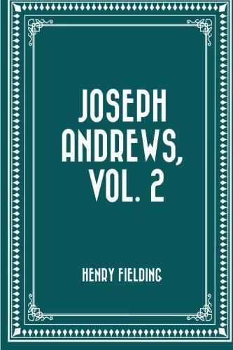 9781523389148: Joseph Andrews, Vol. 2