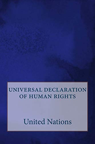 9781523393725: universal declaration of human rights