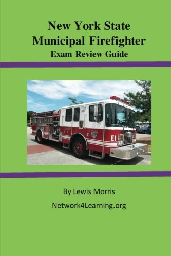 9781523394517: New York State Municipal Firefighter Exam Review Guide