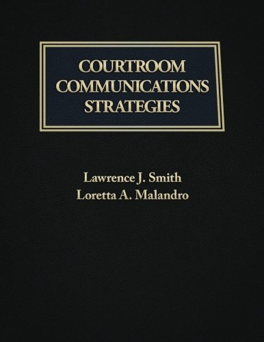 9781523399130: Courtroom Communication Strategies