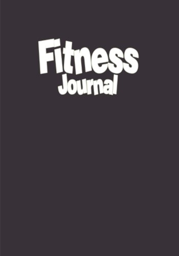 9781523401888: Fitness Journal: 12 Month Fitness Diary with Food Journal in One (Fitness Journals)