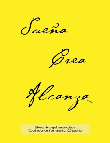 9781523406746: Libreta de papel cuadriculado, cuadrados de 1 centémetro, 120 páginas: Libreta 21,59 x 27,94 cm, perfecta para la asignatura de matemáticas en la ... o incluso como diario. (Spanish Edition)