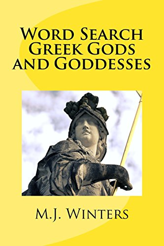 9781523421671: Word Search Greek Gods and Goddesses