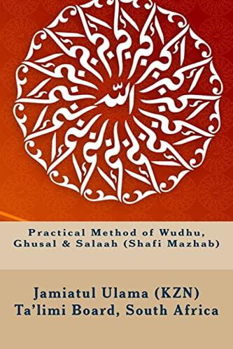 Practical Method of Wudhu, Ghusal & Salaah: Ta'limi Board, South