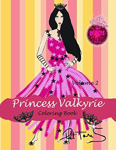 9781523427215: Princess Valkyrie Coloring Book: Volume 2 (For Teens and Girls)