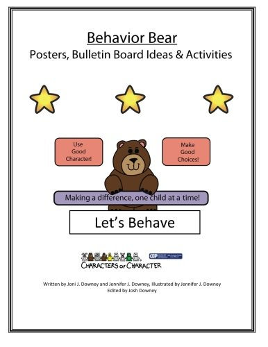 9781523431502: Behavior Bear Posters and Bulletin Board Ideas and Activities