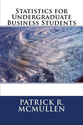 9781523456611: Statistics for Undergraduate Business Students