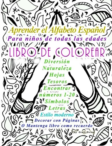 9781523462971: Aprender el Alfabeto Español Para niños de todas las ...