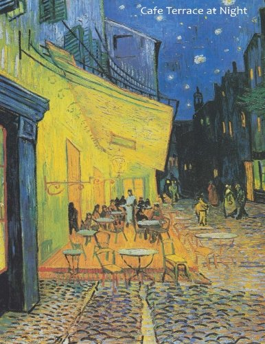 9781523479047: Cafe Terrace at Night: By Vincent van Gogh: A Large (8.5