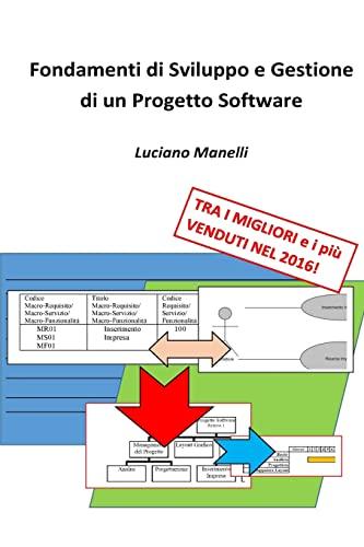9781523491803: Fondamenti di Sviluppo e Gestione di un Progetto Software (Italian Edition)