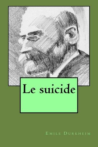 9781523494507: Le suicide