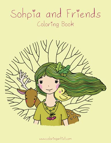 9781523496808: Sophia and Friends Coloring Book 1 (Volume 1)