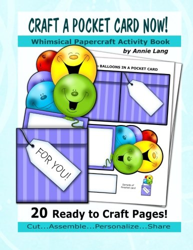 9781523497683: Craft a Pocket Card Now!: Whimsical Papercraft Activity Book