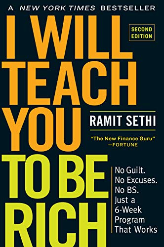 9781523505746: I Will Teach You to Be Rich, Second Edition: No Guilt. No Excuses. No BS. Just a 6-Week Program That Works
