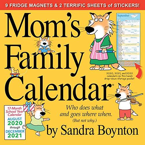 9781523508198: Mom's Family 2021 Calendar