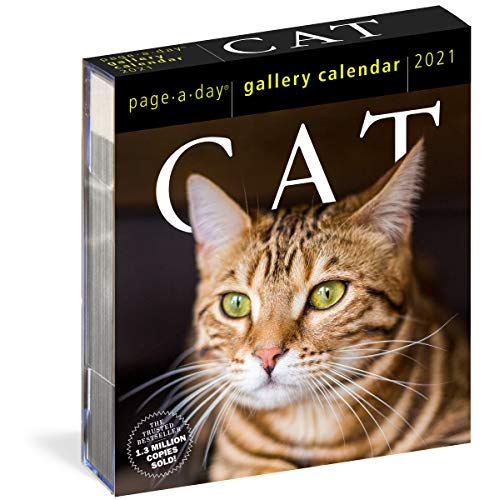 9781523508921: Cat Page-A-Day Gallery Calendar 2021