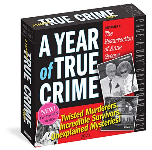 9781523509102: A Year of True Crime Page-A-Day Calendar 2021