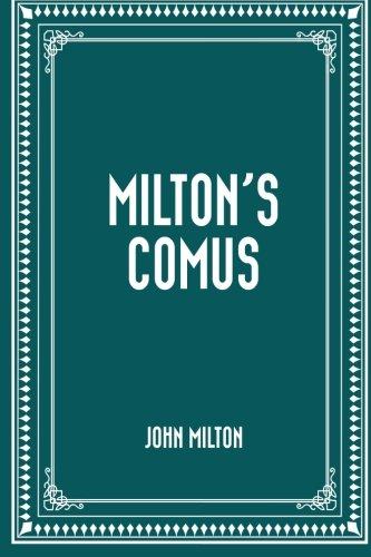 9781523607662: Milton's Comus