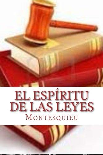 9781523614738: El Espíritu De Las Leyes